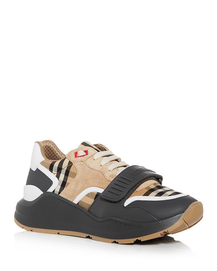 Burberry - Men's Ramsey Vintage Check Low Top Sneakers