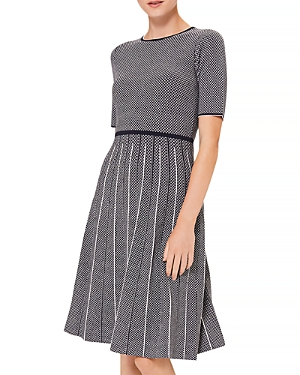 Hobbs London Sophie Fit and Flare Dress-Women
