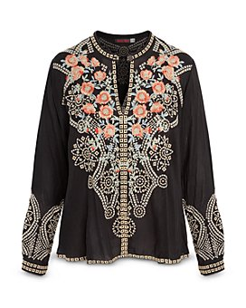 Johnny Was - Alani Embroidered Blouse