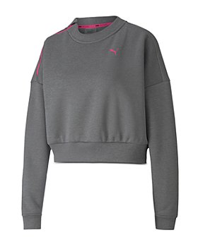 PUMA - Train Brave Zip Crew Sweatshirt