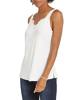 NIC and ZOE - Lace Trim Cami Tank