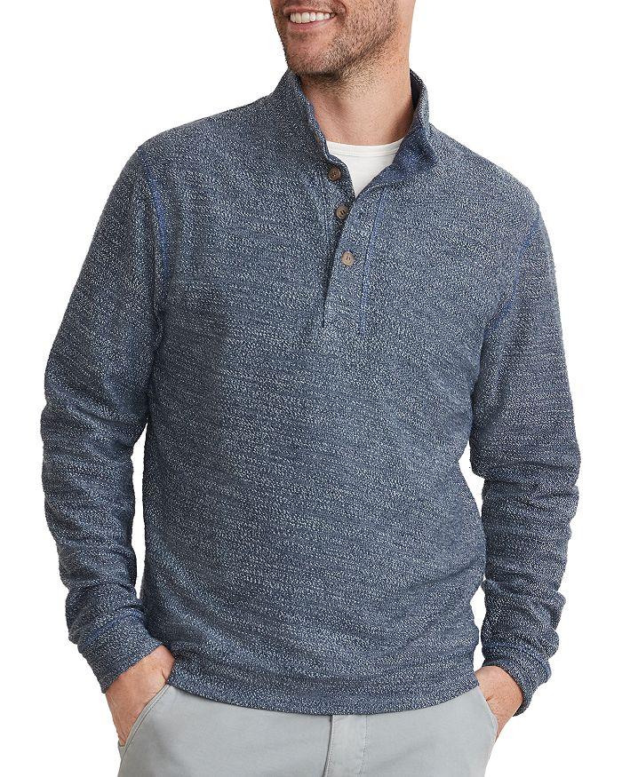 Marine Layer - Clayton Cotton Blend Bouclé Sweatshirt