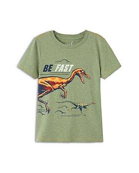 Peek Kids - Boys' Luke Cotton Dinosaur Tee - Little Kid, Big Kid