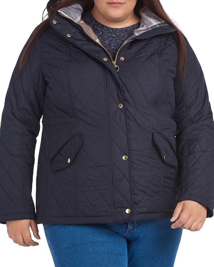 Barbour - Millfire Hooded Quilted Coat