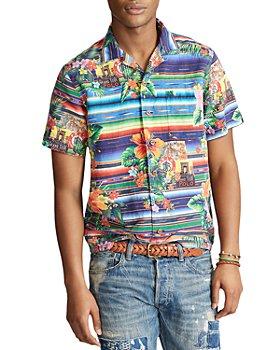 Polo Ralph Lauren - Custom Fit Floral Serape Camp Shirt