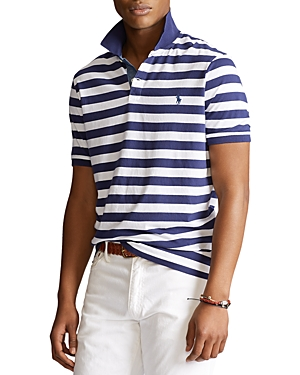 POLO RALPH LAUREN CLASSIC FIT STRIPED JERSEY POLO SHIRT