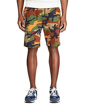 Polo Ralph Lauren - Camo Cotton Blend Shorts