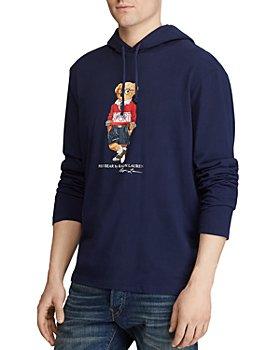 Polo Ralph Lauren - Haircut Bear Cotton Graphic Hooded Tee