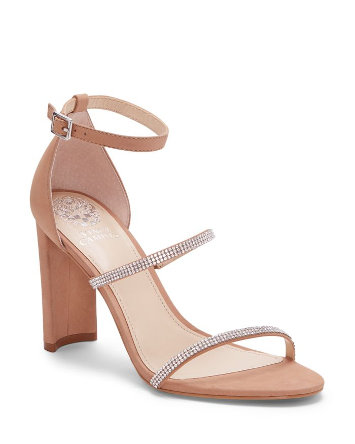 VINCE CAMUTO Women's Fairah Strappy High Heel Sandals    Bloomingdale's