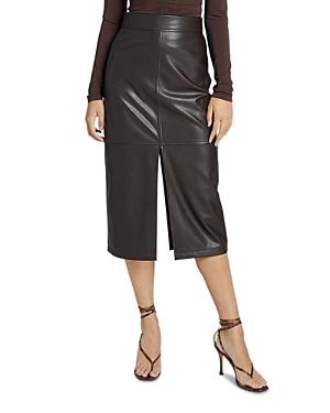 A.l.c. Moss Faux Leather Pencil Skirt-Women