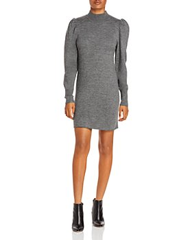 WAYF - Lola Puff Sleeve Sweater Dress