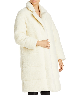 Moncler Downs BAGAUD FAUX SHEARLING DOWN COAT