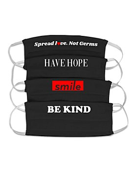 The Phluid Project - Smile Masks, Set of 4