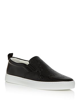 Gucci - Men's Dublin GG Embossed Slip On Sneakers