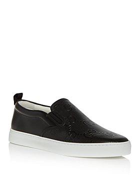 Gucci - Men's Dublin GG Embossed Slip On Sneakers