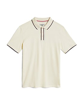 Ted Baker - Cotton Tipped Textured Polo
