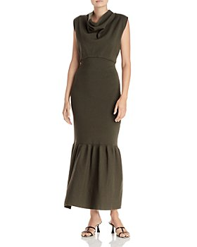 3.1 Phillip Lim - Cowl Neck Flounce Dress