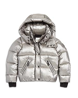Sam. Girls' Elsa Shimmer Down Puffer Jacket - Big Kid