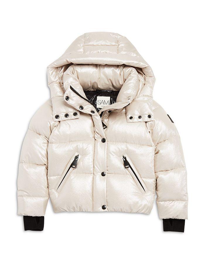 SAM. - Girls' Elsa Shimmer Down Puffer Jacket - Big Kid