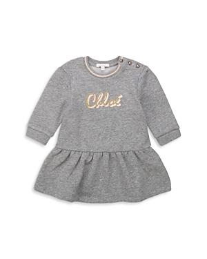 Chloe Girls\\\' Logo Sweatshirt Dress - Baby-Kids