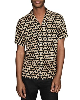 REISS - Tresco Wavey Striped Shirt