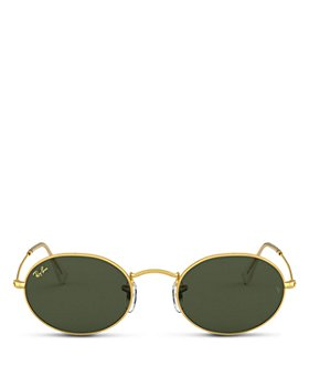 Ray-Ban - Men's Solid Oval Sunglasses, 51mm