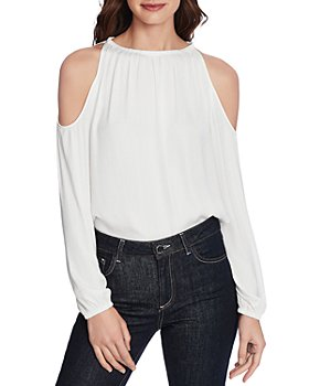 1.STATE - One Shoulder Blouson Top