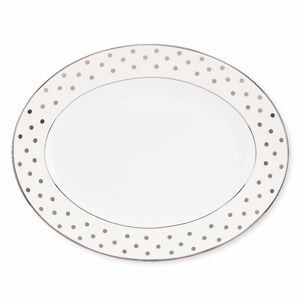 kate spade new york Larabee Road Oval Platter, 13