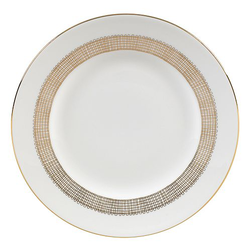 "Vera Wang - for Wedgwood ""Gilded Weave"" Salad Plate"