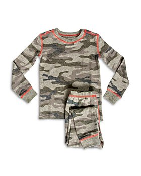 PJ Salvage - Boys' Camo Print Pajama Set - Little Kid, Big Kid