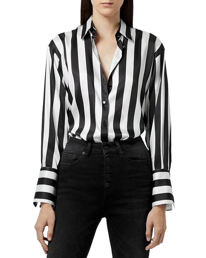 The Kooples STRIPED BLOUSE