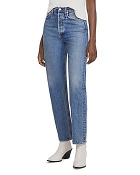 AGOLDE - 90's Pinch Waist High Rise Straight Leg Jeans in Navigate
