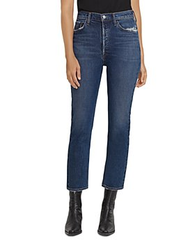 AGOLDE - Riley High Rise Straight Leg Jeans in Pastime