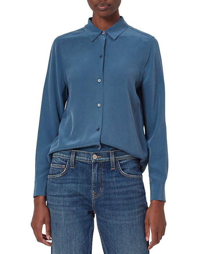 Equipment - Essential Button Down Silk Shirt