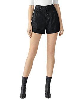 DL1961 - Dayna Paperbag Coated Jean Shorts in Medina