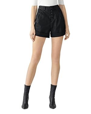 DL1961 Dayna Paperbag Coated Jean Shorts in Medina-Women