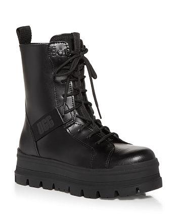 UGG® - Women's Sheena Platform Combat Boots