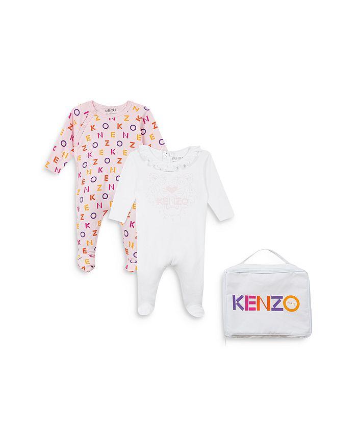 Kenzo - Girls' Footie Duo & Logo Bag Set - Baby