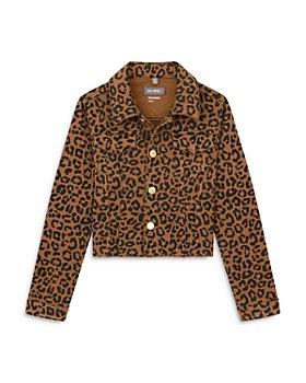 DL1961 - Girls' Manning Animal Print Denim Jacket - Big Kid
