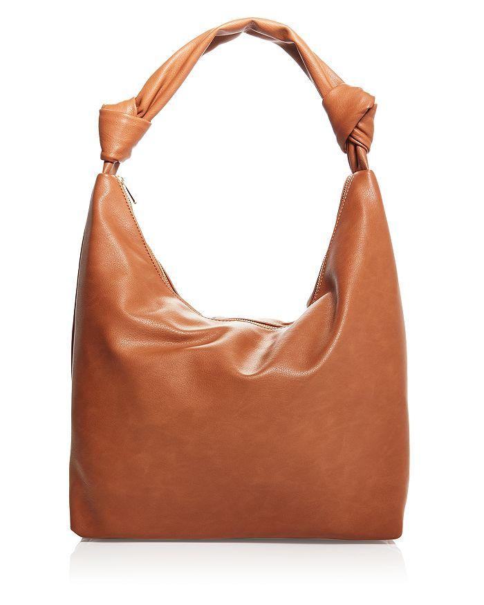 Aqua Slouchy Hobo Bag - 100% Exclusive In Tan