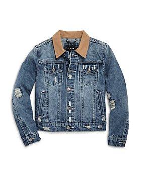 Joe's Jeans - Boys' Distressed Denim Jacket - Little Kid, Big Kid