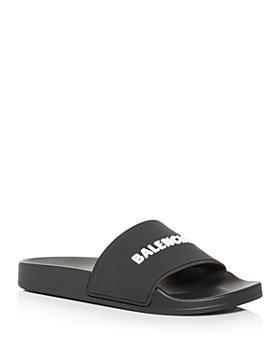 Balenciaga - Women's Logo Slide Sandals