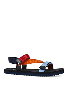 Burberry - Men's Patterson Logo Stripe Sandals