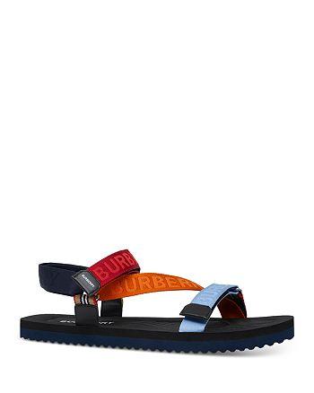 Burberry - Men's Patterson Logo Stripe Sandals