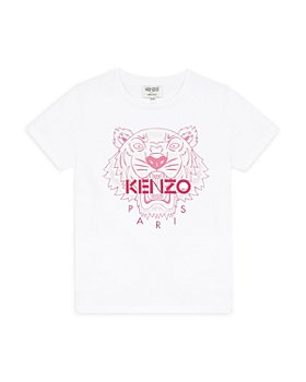 Kenzo - Girls' Tiger Logo Tee - Little Kid, Big Kid