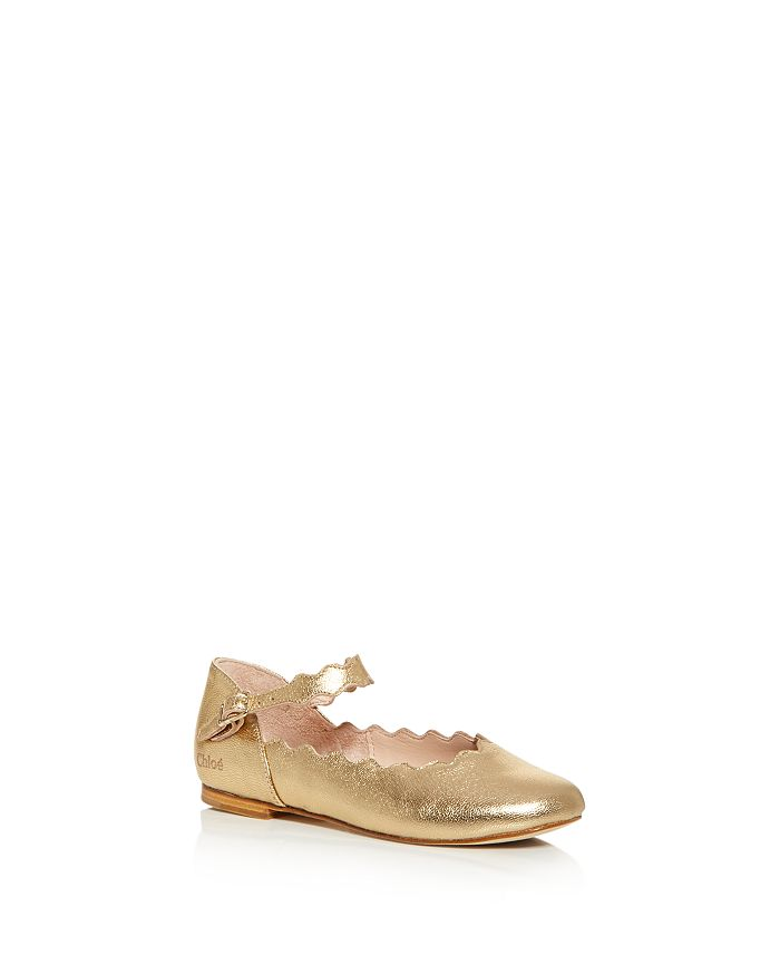 Chloé - Scalloped Mary Jane Flats - Toddler, Little Kid
