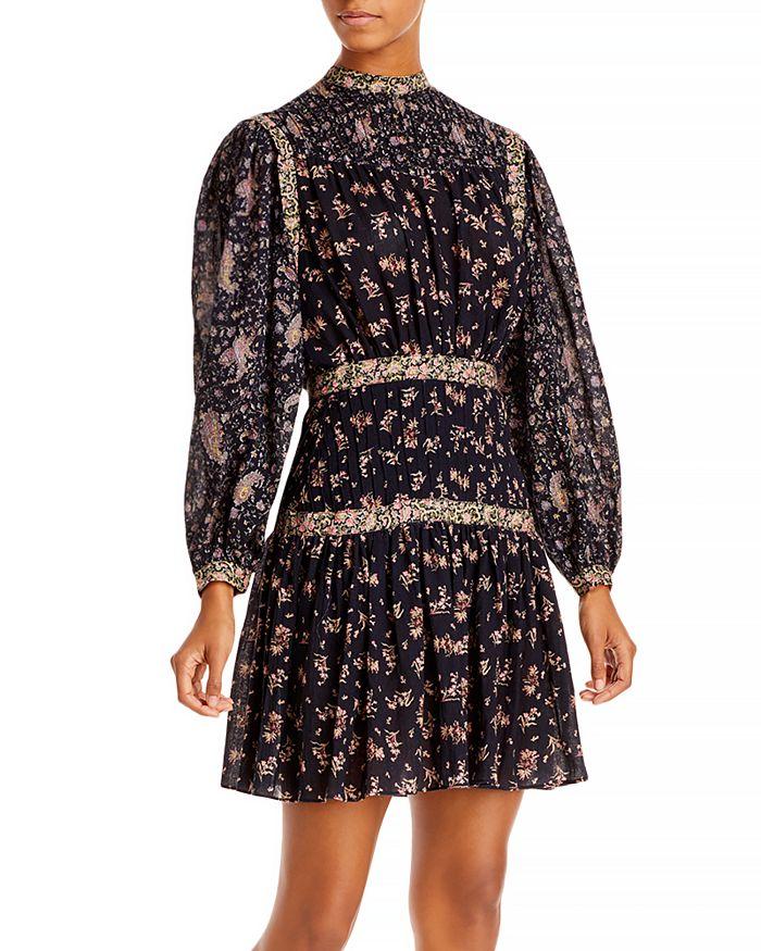 Rebecca Taylor - La Vie Mixed Print Dress