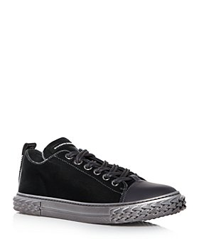 Giuseppe Zanotti - Men's Blabber Mixed Media Low Top Sneakers