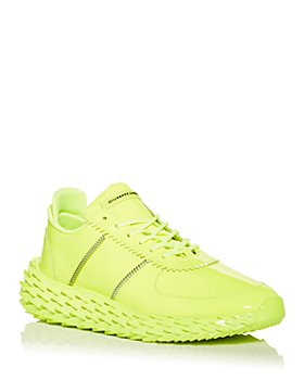 Giuseppe Zanotti - Men's Urchin Fluorescent Low Top Sneakers