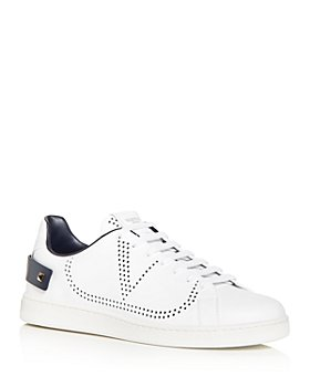 Valentino Garavani - Men's Backnet Calfskin Sneakers